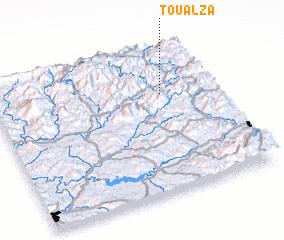 3d view of Toualza