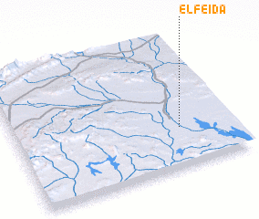 3d view of El Feïda