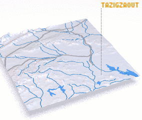 3d view of Tazigzaout