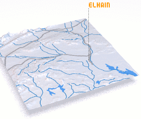 3d view of El Haïn