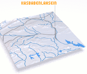 3d view of Kasba Ben Lahseïn