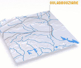 3d view of Oulad Bouziane