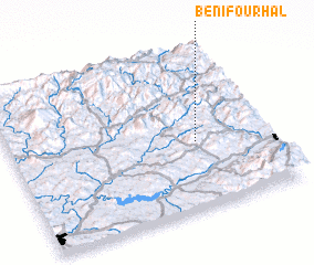 3d view of Beni Fourhal