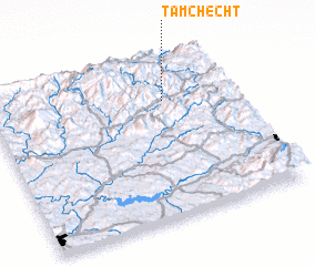 3d view of Tamchecht