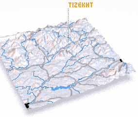3d view of Tizekht