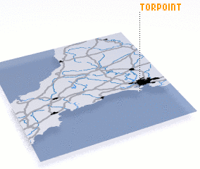 3d view of Torpoint