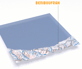 3d view of Beni Boufrah
