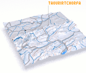 3d view of Taourirt Chorfa