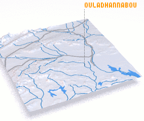 3d view of Oulad Hannabou