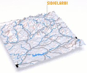 3d view of Sidi el Arbi