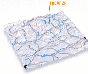 3d view of Taounza
