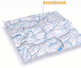 3d view of Bou Zergoun