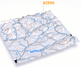 3d view of Azrou