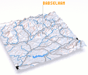 3d view of Bab Selham