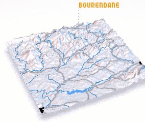 3d view of Bou Rendane