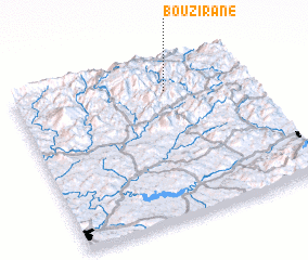 3d view of Bouzirane