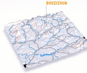 3d view of Bou Zizoua
