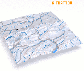 3d view of Aït Hattou