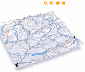 3d view of El Mehamda