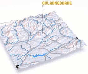 3d view of Oulad Meddane