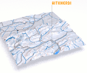 3d view of Aït Kherdi