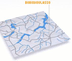 BoboDioulasso Burkina Faso map nonanet