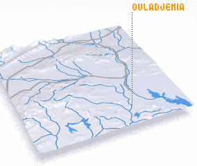 3d view of Oulad Jemia