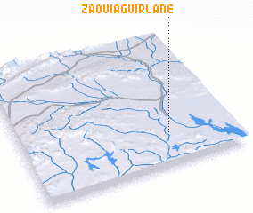 3d view of Zaouia Guirlane