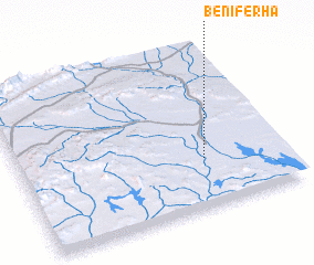 3d view of Beni Ferha