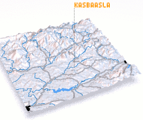 3d view of Kasba Asla