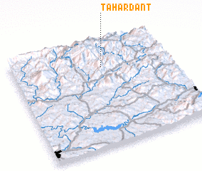 3d view of Tahardant