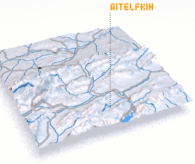 3d view of Aït el Fkih