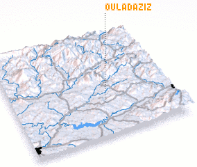 3d view of Oulad Aziz