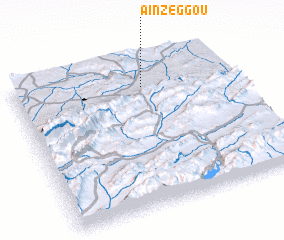 3d view of Aïn Zeggou