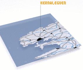 3d view of Kernaléguen