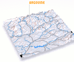 3d view of Amgouine