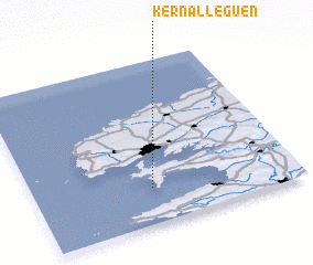3d view of Kernalléguen