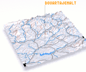 3d view of Douar Tajemalt