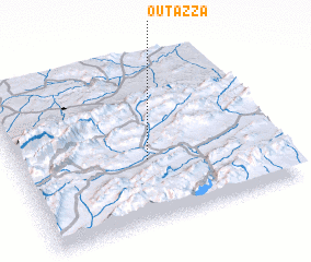 3d view of Outazza