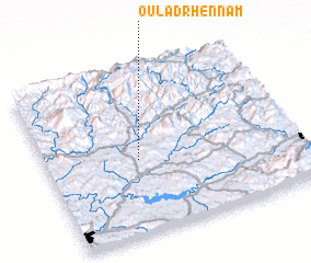 3d view of Oulad Rhennam