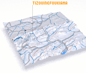 3d view of Tizouine Foukiama