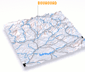 3d view of Bou Aouad