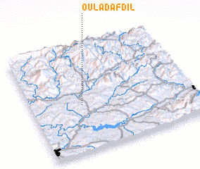 3d view of Oulad Afdil