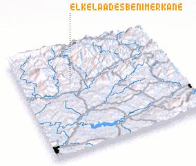 3d view of El Kelaa des Beni Merkane