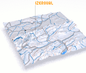 3d view of Izeroual