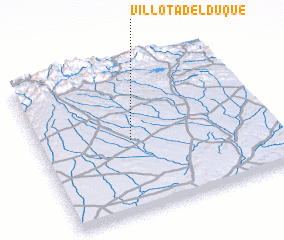 3d view of Villota del Duque