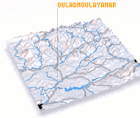 3d view of Oulad Moulay Amar
