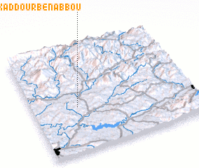 3d view of Douar Oulad Kaddour Ben Abbou
