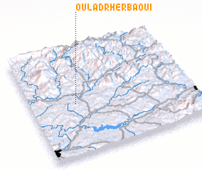 3d view of Oulad Rherbaoui