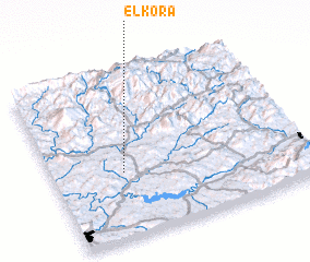 3d view of El Kora